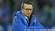 Deutschland Fußball Bundesliga Trainer Nobert Meier