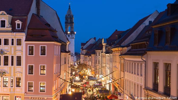 Deutschland Bautzner Wenzelsmarkt (picture-alliance/dpa/S. Kahnert)