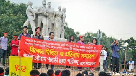 Bangladesh Angriffe gegen indigene Völker (Sumaiya Sayed)