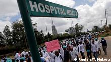 Kenia Ärzte Protest