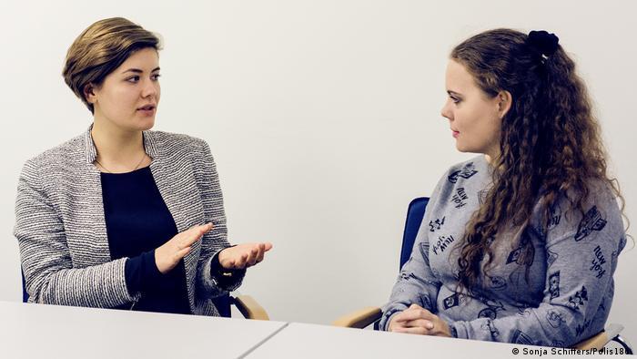Нікола Геберзетцер (ліворуч) та Валерія Раілко