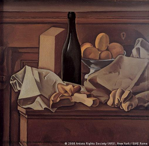 Giorgio Morandi: Stillleben 'Natura Morta' von 1919 (Quelle: Artists Rights Society (ARS), New York / SIAE Rome)