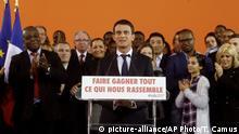 Manuel Valls verkündet seine Prasidentschaftskandidatur