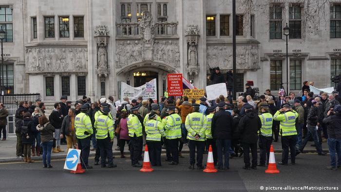 London Protest Brexit