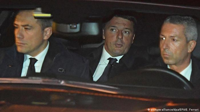 Italien Matteo Renzi Ankunft am Quirinalspalast in Rom