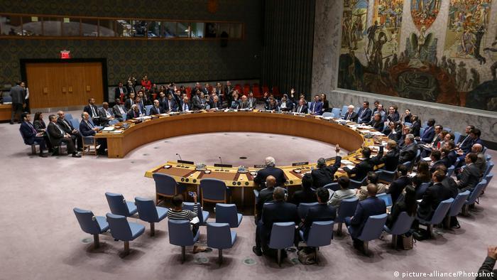 Russland und China blockieren UN-Resolution zu Feuerpause in Aleppo (picture-alliance/Photoshot)