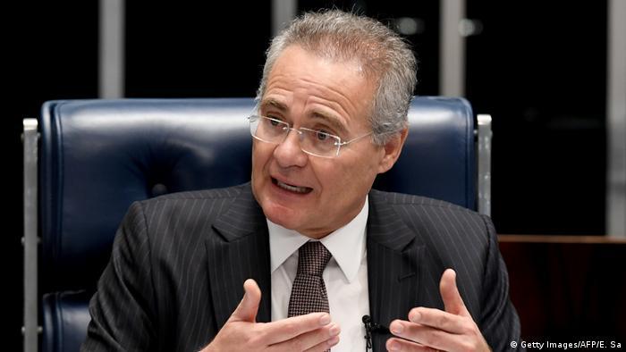 Brasilien Renan Calheiros (Getty Images/AFP/E. Sa)
