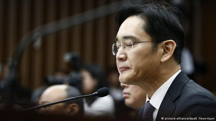 Samsung executive Lee Jae-yong