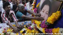 India Jayalalithaa Trauer