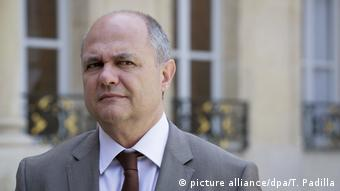 French Interior Minister Bruno Le Roux