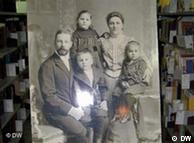 Familia de inmigrantes alemanes en Chile.