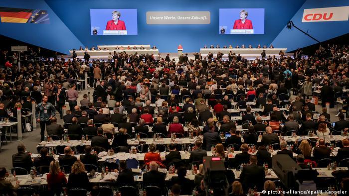 Deutschland CDU-Bundesparteitag