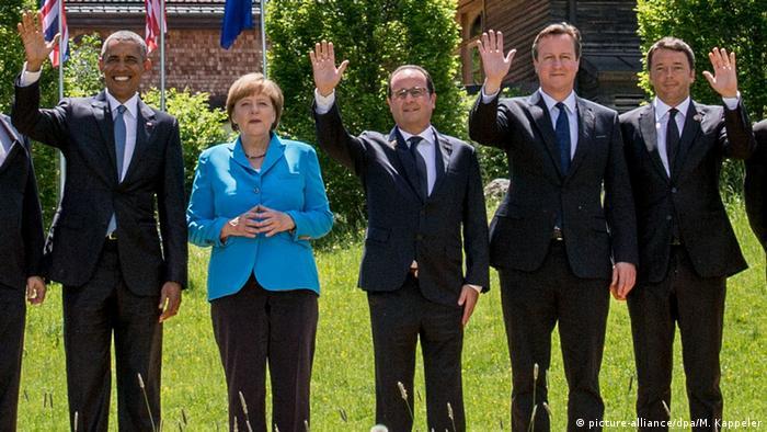 Deutschland G7-Gipfel 2015 in Elmau, Bayern (picture-alliance/dpa/M. Kappeler)!