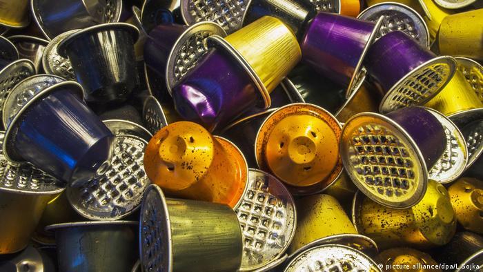 Used coffee capsules (picture alliance/dpa/L.Sojka)