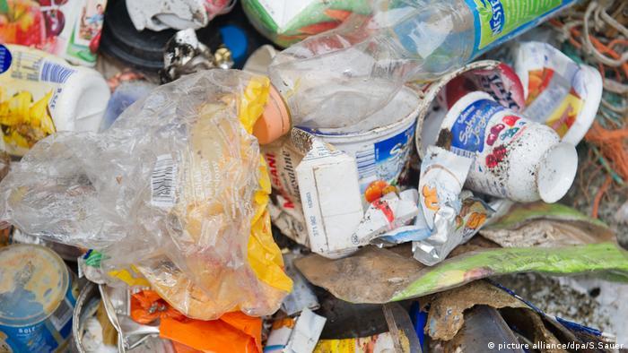 Plastikmüll Müll Verpackungsmüll