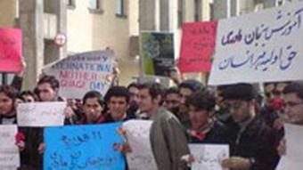 ایرانیان هر سال در روز جهانی زبان مادری از دولت درخواست میکنند اصول مربوط به زبان مادری قومیتها در قانون اساسی را اجرا کند.