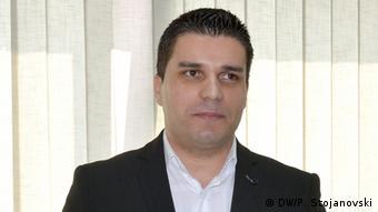 Mazedonien Ljupco Nikolovski Kandidat der oppositionellen SDSM für die Wahlen