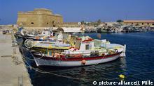 Paphos harbour, Cyprus, Europe   Verwendung weltweit, Keine Weitergabe an Wiederverkäufer.