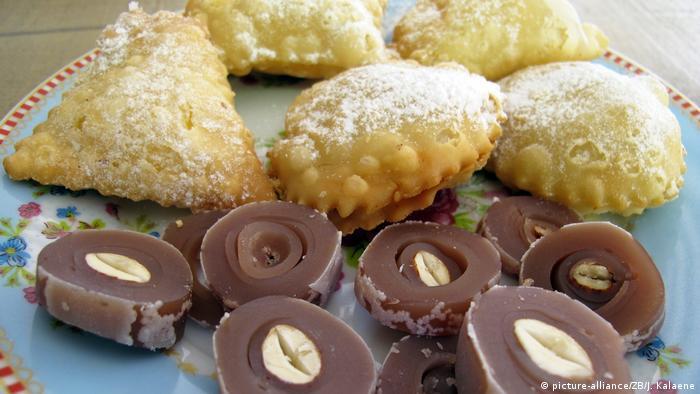 Zypern Traditionelle Süßigkeiten (picture-alliance/ZB/J. Kalaene)
