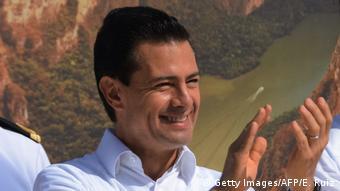 Mexiko Präsident Enrique Pena Nieto (Getty Images/AFP/E. Ruiz)