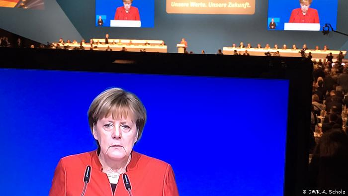 Angela Merkel CDU Parteitag in Essen