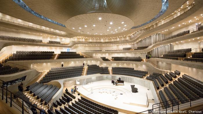 Велика зала Ельбської філармонії