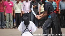 Saudi Arabien Protest gegen Hinrichtung von bangladeschischen Arbeitern