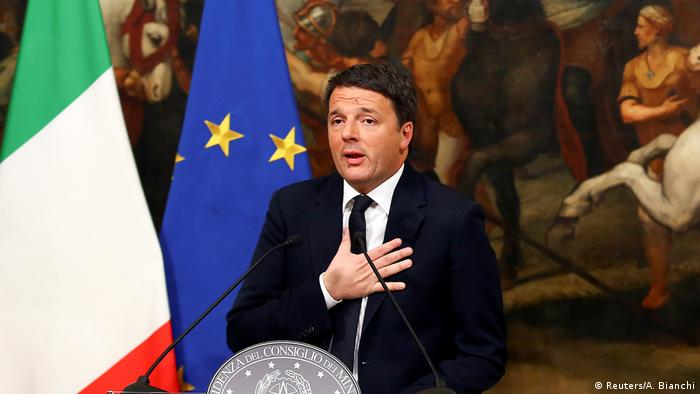 Italien Premierminister Matteo Renzi (Reuters/A. Bianchi)
