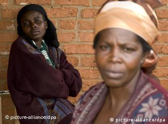 Congolese women, rape victims