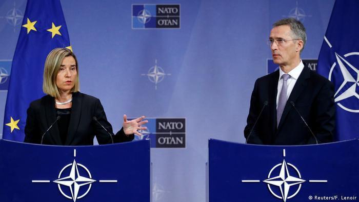 Los ministros de Relaciones Exteriores de la OTAN firmaron acuerdo de mayor colaboración con la UE, iniciando así una importante nueva era en medio de la incertidumbre ante la futura presidencia de Donald Trump. 06.12.2016