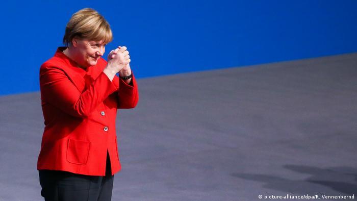 CDU Bundesparteitag nach Merkel Wiederwahl (picture-alliance/dpa/R. Vennenbernd)