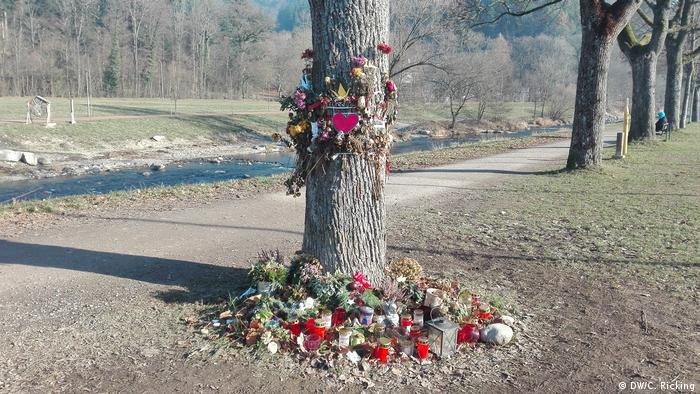 Mord an Maria L. aus Freiburg Stelle des Gedenkens