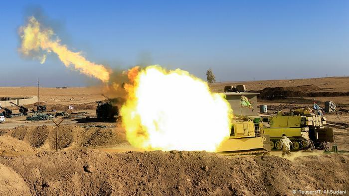 Kampf um Mossul Irak (Reuters/T. Al-Sudani)