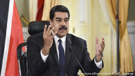Nicolas Maduro speaks