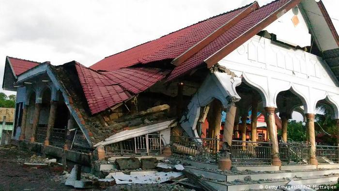 Indonesien Erdbeben Sumatra Banda Aceh