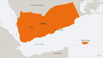 Infografik Karte Yemen Mukalla ENG EN