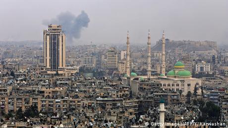 Syrien Aleppo (Getty Images/AFP/Y. Karwashan)
