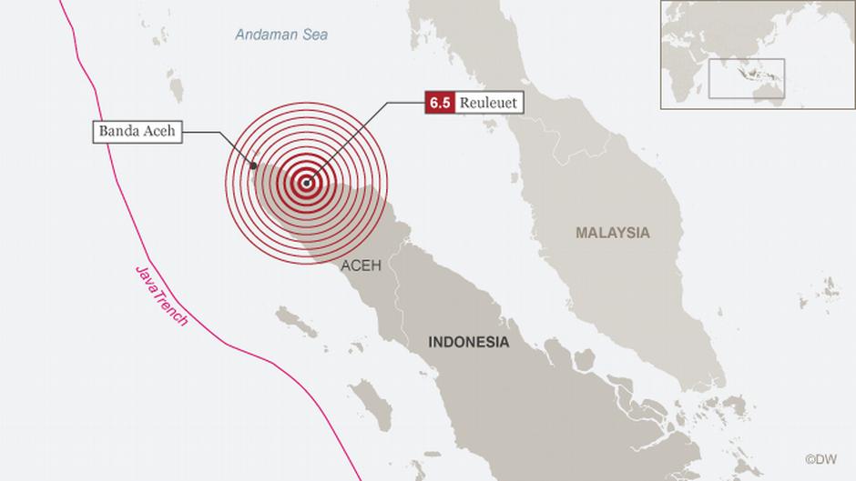 Tsunami 2004 Sri Lanka Karte.Death Toll Rises After Earthquake In Indonesia S Aceh News Dw