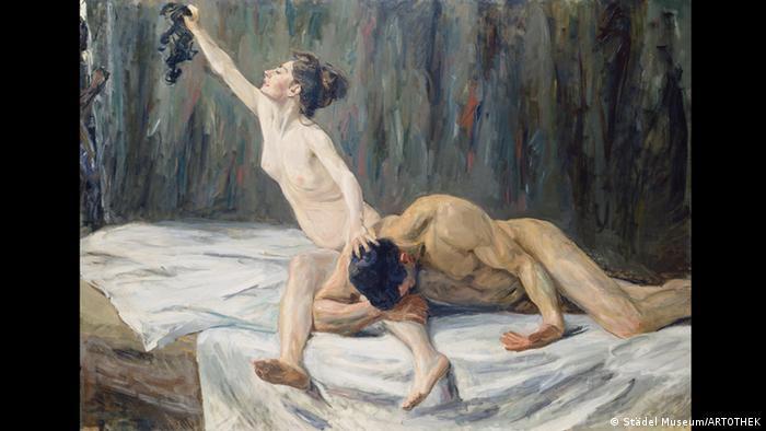 Самсон и Далила, Макс Либерман, 1902 год