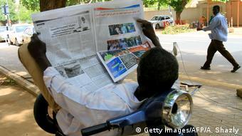 Sudan Pressefreiheit Symbolbild