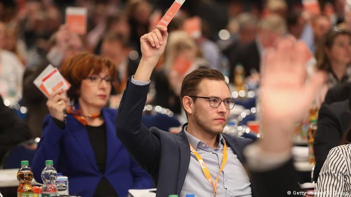 CDU Parteitag in Essen (Getty Images/S. Gallup)