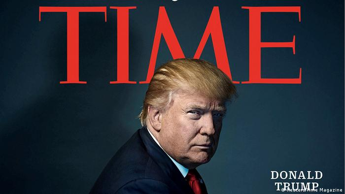 Time Magazine Cover Donald Trump (Reuters/Time Magazine)