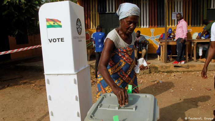Ghana Wahlen (Reuters/L. Gnago)