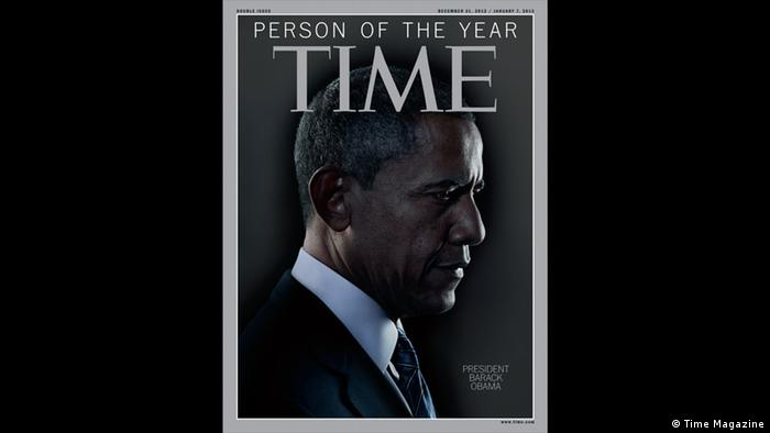 Time Magazine Person of the year 2012 Barack Obama (Time Magazine)