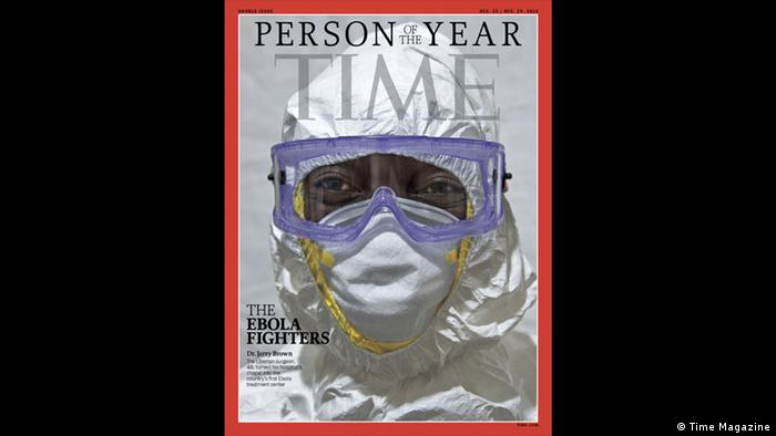 Time Magazine Person of the year The Ebola fighters (Time Magazine)