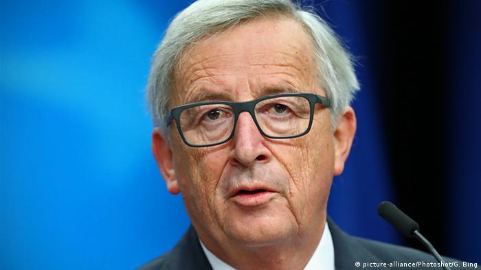 EU Kommissionspräsident Jean-Claude-Juncker (picture-alliance/Photoshot/G. Bing)
