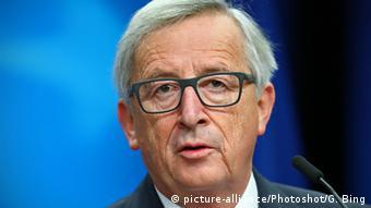 EU Kommissionspräsident Jean-Claude-Juncker