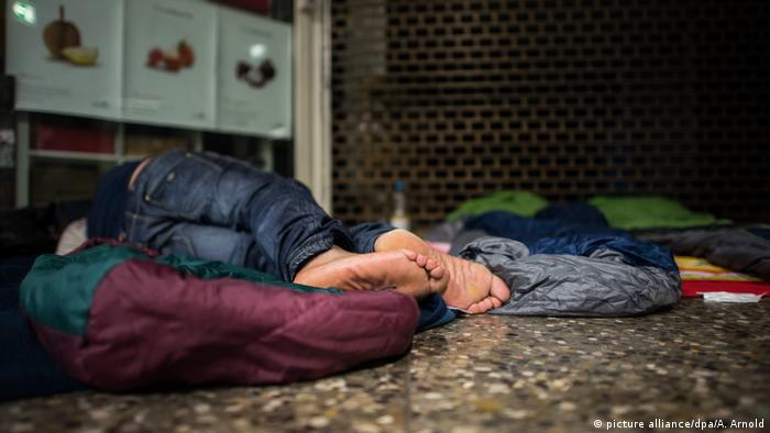 Frankfurt Übernachtungsplatz für Obdachlose