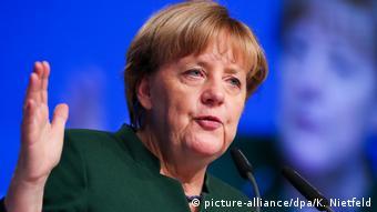 Essen CDU-Bundesparteitag Rede Merkel