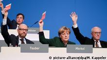 Das CDU-Präsidium hatte beim Bundesparteitag in Essen nicht nur gute Laune